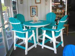 Turquoise Patio Chairs Furniture White And Turquoise Wooden Patio Chairs With Wood