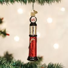 retro cylinder gas pump ornament petroliana christmas tree