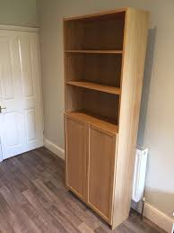 Ikea Billy Bookcase With Doors Ikea Billy Bookcase With Oxberg Doors In Brislington Bristol