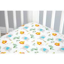 Zutano Crib Bedding Zutano Blue Juba 5 Crib Set Walmart