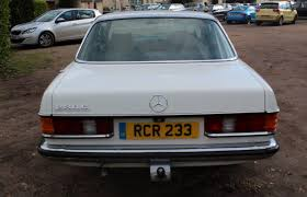 mercedes classic 2017 mercedes 230 cw auto 1978 south western vehicle auctions ltd