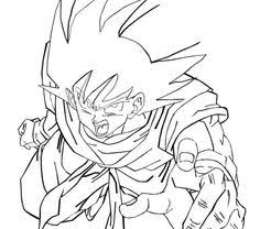 dbz goku ssj4 coloring pages coloring pages goku