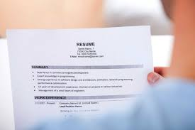The Best Summary For A Resume by Gaps On Resume Resume For Your Job Application
