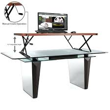 desk standing sitting desk nz sitting standing desk conversion