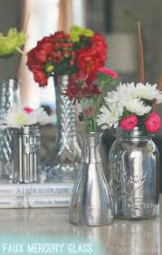How To Make A Mercury Glass Vase Faux Mercury Glass Vases