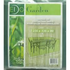housse de protection jardin housse de protection salon jardin rectangulaire