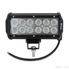 7 inch 36w cree car led work light led bar light 2800lm car
