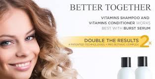 nourish beauté vitamins hair growth shampoo b3 products