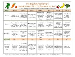 meal plan monday december 9 u201322 meals food and weekly meal plans