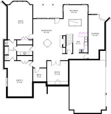Ranch Designs Two Bedroom Floor Plan Simple House Plans View Square Feet Kerala