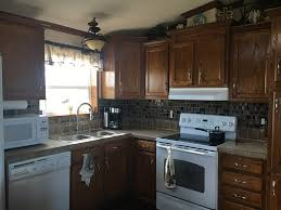 how to update mobile home kitchen cabinets 10 mobile home makeovers that will inspire your remodel