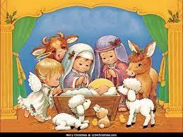 nativity scene wallpaper for free download