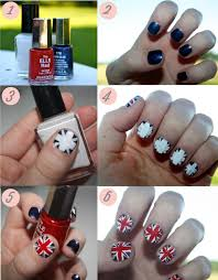 how to union jack nail art trends with benefits nail art