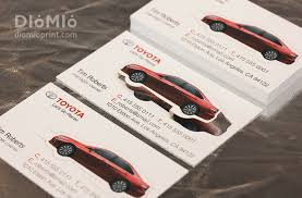 Best Business Card Company Toyota Business Diomioprint