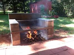 Backyard Bbq Grill Company by Build Your Own Backyard Cinder Block Grill Easy Youtube