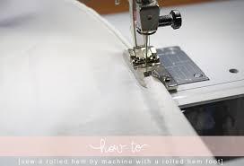 Blind Hem Presser Foot 3 Ways To Sew A Rolled Hem U2014 Megan Nielsen Design Diary