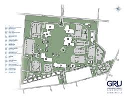 Georgia State University Campus Map by Summerville Campus Building Codes