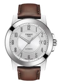 tissot watches leather bracelet images Tissot gentleman swissmatic gioielleria fontana png