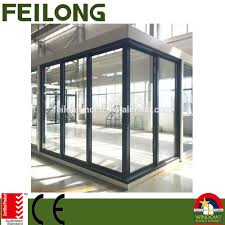 commercial glass sliding doors commercial aluminum corner sliding door 3 sashes u0026 2 sashes passed
