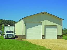 metal garages steel garages northland buildings inc ga 7 1105111 30x48x14