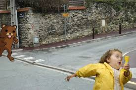 Running Kid Meme - chubby bubbles girl know your meme