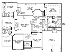 country floor plans country style house plan 4 beds 3 baths 2525 sq ft plan 17 2682