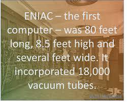 Eniac Eniac The First Computer