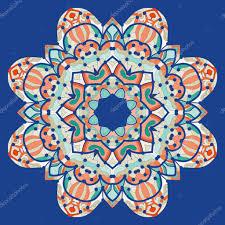 Islamic Invitation Card Ornamental Colorful Mandala Vector Square Flyer Card Design