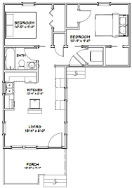 Two Bedroom Tiny House 14x28 Tiny House 14x28h1f 521 Sq Ft Excellent Floor Plans