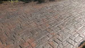 Cracked Concrete Patio Solutions by Repairing Stamped Concrete The Concrete Professor