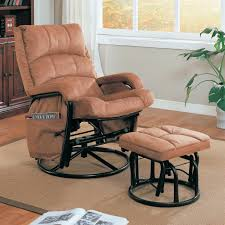 Matching Living Room Chairs Coaster Recliners With Ottomans Glider Recliner With Matching