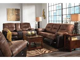 Living Room Bonus - signature design by ashley 3pc follett reclining living room set