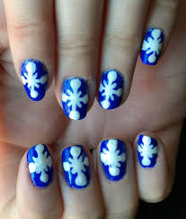 christmas month 2014 tutorial snowflakes nails for nickels