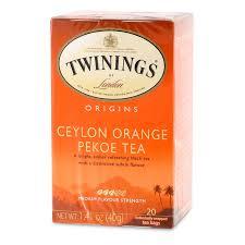 twinings ceylon tea 20 tea bags