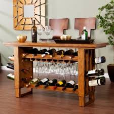 wine rack console foter