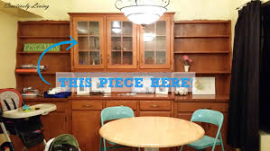 Dining Room Built Ins Re Purposing A Dining Room Built In Hutch Into Playroom Toy
