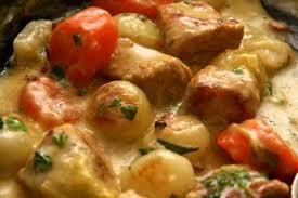 cuisiner une blanquette de veau la blanquette un amour de classique la cuisine à quatre mains