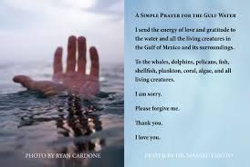 prayers of thanksgiving for healing gulf water prayer prayer and practice pinterest