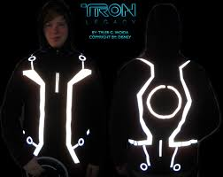 Tron Halloween Costume Light Up by Tron Legacy Jacket Wip 2 By Hynmayproductions On Deviantart