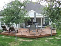 deck foundation radnor decoration