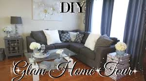 Glam Bedroom Decor Dollar Tree Diy Glam Home Tour Diy Fall Home Tour 2017 Diy