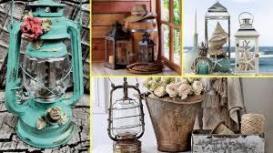 Shabby Chic Fall Decorating Ideas Diy Rustic U0026 Shabby Chic Candle Lantern Decor Ideas Home Decor