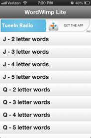 shitty iphone apps iphone app reviews wordwimp lite
