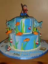 fishing birthday cake ideas