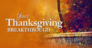 thanksgiving devotion your thanksgiving breakthrough inspiration ministries