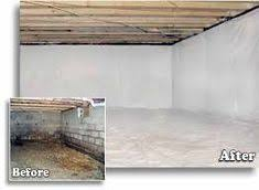 are you overrun with fear when looking into your crawl space do