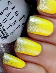 Nail Art Nail Polish Designs Best 20 Yellow Nail Art Ideas On Pinterest Yellow Nail Polish