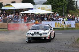 opel race car opel manta b400 homologation version rally group b shrine