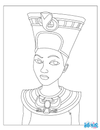 cleopatra queen of egypt for kids coloring pages and coloring page