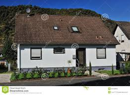 front view of the modern house stock photos image 23103833